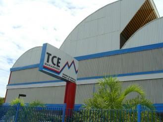Fachada da sede do TCE do Maranhão