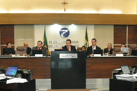 Resultado de imagem para pleno do Tribunal de Contas do Estado do Ceará (TCE-CE)