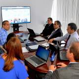 Comissão da Atricon em visita técnica ao TCE-PE