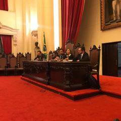 Na USP, Valdecir Pascoal prega união para reforma dos Tribunais de Contas