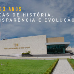 TCM-CE completa 63 anos de fundação
