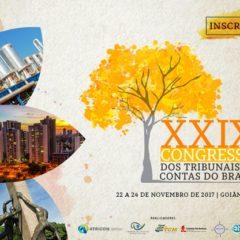 Abertas as inscrições para o XXIX Congresso dos Tribunais de Contas do Brasil