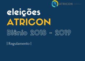 Publicada portaria que regulamenta eleições da Atricon para o biênio 2018-2019