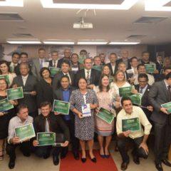 TCM-PA entrega Selo Verde Gestor Transparente 2017 e Troféu Gestor Transparente Sebrae no Dia Internacional Contra a Corrupção