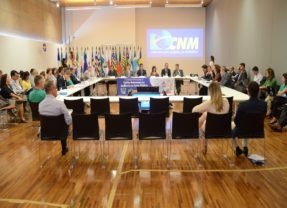 Em evento da CNM presidente fala de parceria