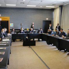 Reunião de diretoria na programação do VI Encontro