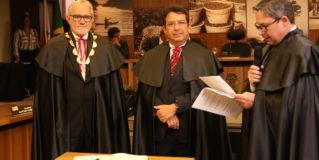 Sérgio Leão assume presidência e conclama união para um TCM-PA melhor e mais próximo da sociedade