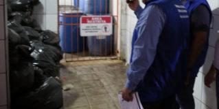 """""""Blitz da Saúde"""" do TCE-RO constata veracidade de vídeo-denúncia sobre ratos em lixo de pronto-socorro de Porto Velho"""