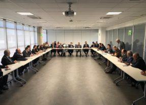 Dirigentes da Atricon se reúnem em Brasília