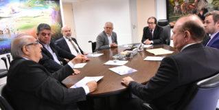 TCE-MS recebe Superintendente da PF para reforçar acordo de cooperação