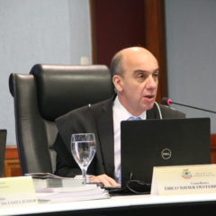 Conselheiro do TCE-AM suspende licitação para construção de muro de contenção em Tefé