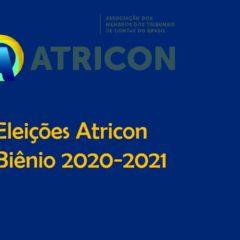 Atricon define prazos para eleições