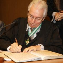 Conselheiro Luiz Augusto é empossado presidente do TCE-SE