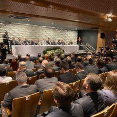 Atricon, IRB, Abracom e CNPTC empossam dirigentes em cerimônia conjunta