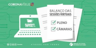 TCE Ceará julga 225 processos em duas semanas pelo Plenário Virtual