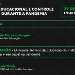 CTE-IRB, Todos pela Educação e Articule promovem webnário dia 27