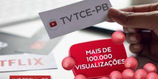 TCE-PB no YouTube está  entre os dez mais acessados canais dos Tribunais de Contas do país