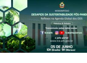 TCE-AM: Websimpósio ambiental será transmitido em três idiomas e em Libras