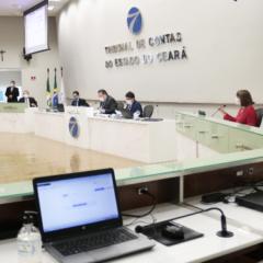 TCE-CE: Julgados 65 processos com 8 sustentações orais nas sessões presenciais extraordinárias de julho