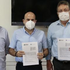 TCE Ceará e Prefeitura de Fortaleza firmam acordo de cooperação para veicular o Acontece TV na TV Terra do Sol