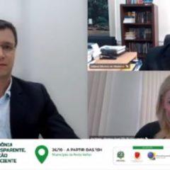 """TCE, MPC e TRE abrem versão online do """"Rondônia Transparente, Eleição Consciente"""" com abordagem sobre Porto Velho"""