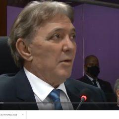 Conselheiro Antonio Joaquim veicula vídeo em defesa de sua honra