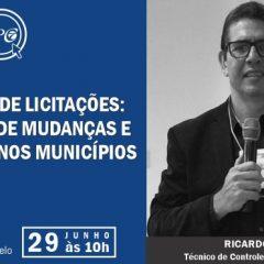 TCE Ceará – IPC realiza, em formato virtual, webinar sobre a Nova Lei de Licitações